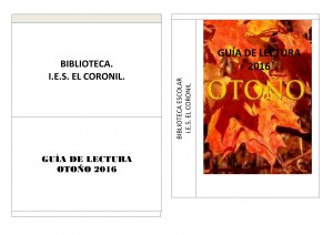guia lectura ies El Coronil otoño 2016-1