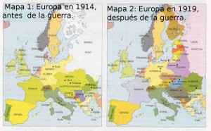 Europa 1914 y 1919